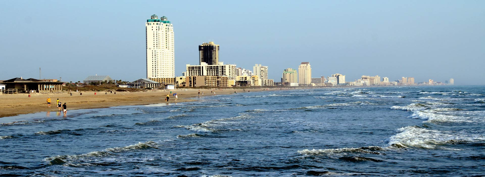 South Padre Island Beach Image