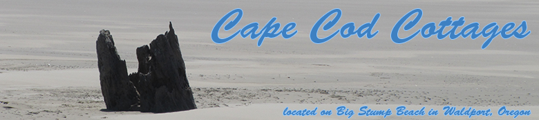 Cape Cod Cottages - Waldport OR
