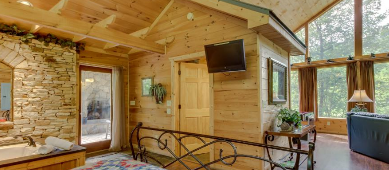 view bella side rentals rental helen cabin bedroom blue vista ridge cabins ga angle