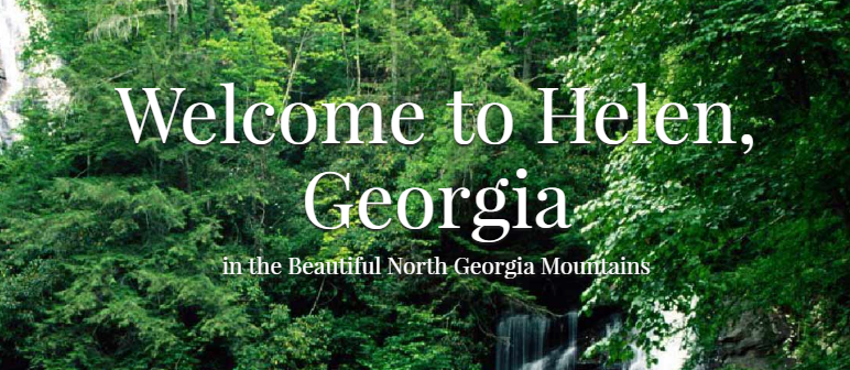 Welcome to Helen GA - Blue Ridge Cabin Rentals