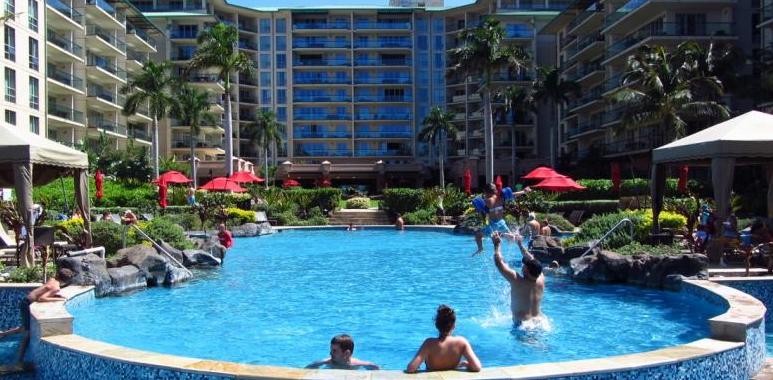Honua Kai Resort - Photo of the outdoor pool with people having a great time.