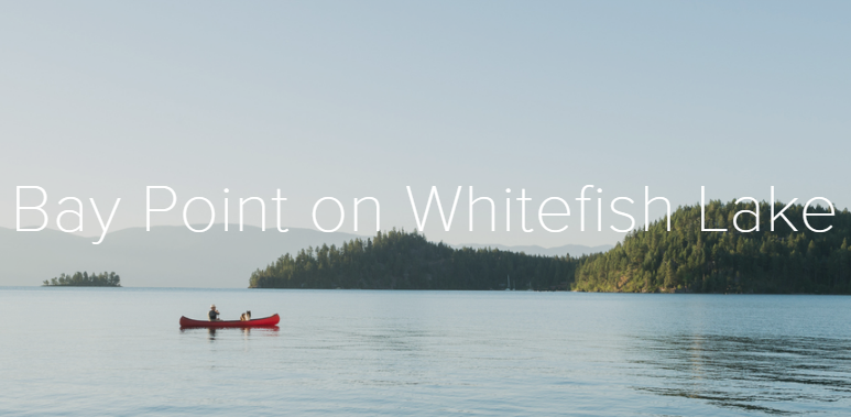 Bay Point on Whitefish Lake - Montana's Best Vacation Rentals