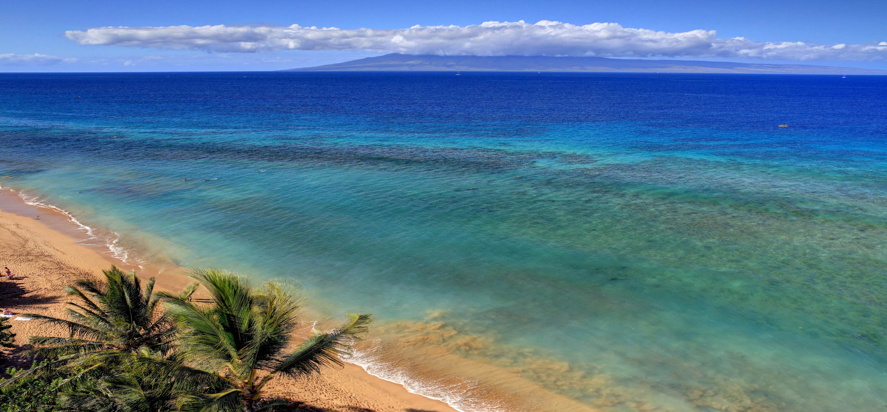 Kaanapali Beach Rentals - Beach and clear blue waters
